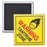 Wutanfall-Zonen-Magnet Kühlschrankmagnet