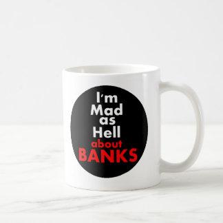 Wütend als Hölle Kaffeetasse