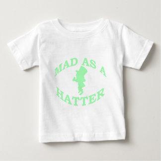 Wütend als Hutmacher Baby T-shirt