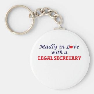 Wütend in der Liebe mit einem legalen Sekretär Schlüsselanhänger