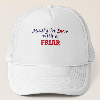 Wütend in der Liebe mit einem Mönch Truckerkappe