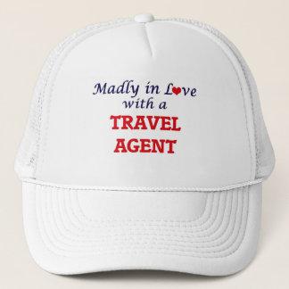 Wütend in der Liebe mit einem Reise-Agenten Truckerkappe