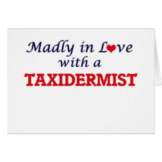 Wütend in der Liebe mit einem Taxidermist Karte