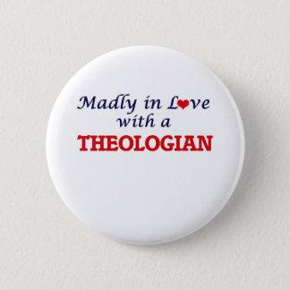 Wütend in der Liebe mit einem Theologian Runder Button 5,7 Cm