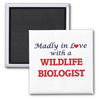 Wütend in der Liebe mit einem Tier-Biologen Quadratischer Magnet