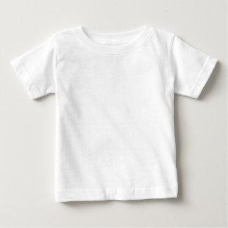 Wütend Tweedle Dee mit Tinte geschwärzte lila Baby T-shirt