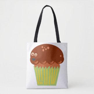 Wütend über ein Muffin Tasche