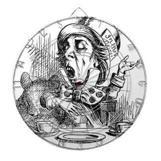 wütende Hutmacher-Dartscheibe Dartscheibe