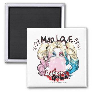 Wütende Liebe Harley Quinn des Batman-|, der Quadratischer Magnet