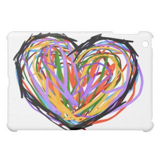 Wütende Liebe (mit Herzen) iPad Mini Hülle