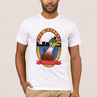 Wütende Stockenten-Brauerei grundlegend T-Shirt