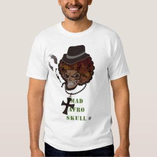 WÜTENDER AFROschädel T Shirt