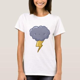 Wütender Donner-Wolken-T - Shirt