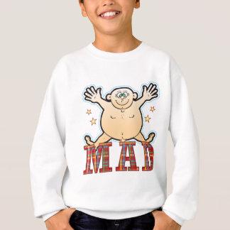 Wütender fetter Mann Sweatshirt