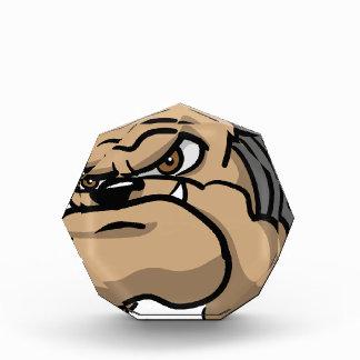 Wütender Hund Acryl Auszeichnung