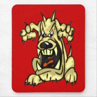 Wütender Hund Mousepads