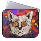 wütender Katze Meow Laptop Sleeve