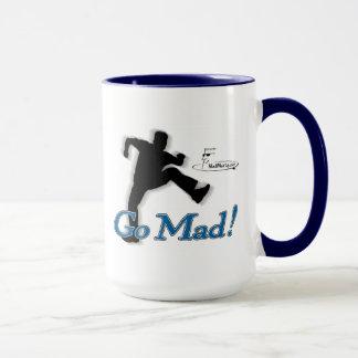 """Wütender Marty """"gehen wütend!"""" Kaffee-Tasse Tasse"""