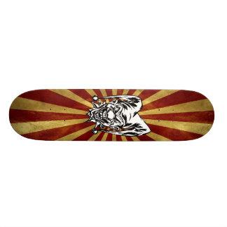 Wütender Spaßvogel Skateboardbretter