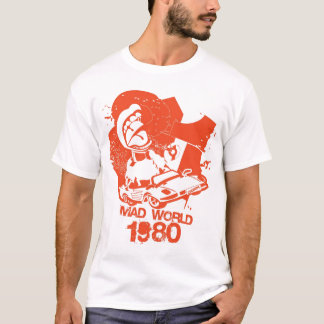Wütender WeltCartoon 1980 T-Shirt
