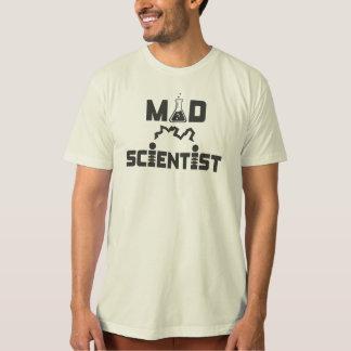 Wütender Wissenschaftler-elektrischer T-Shirt