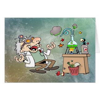 Wütender Wissenschaftler Karten