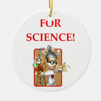 wütender Wissenschaftler Keramik Ornament