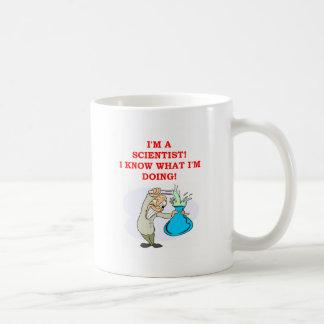 wütender Wissenschaftlerwitz Kaffeetasse