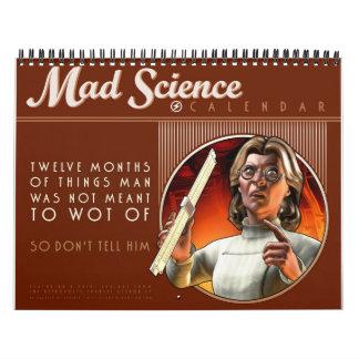 Wütender Wissenschafts-Kalender Kalender