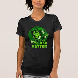 Wütendes Hutmacher-Logo-Grün T-Shirt
