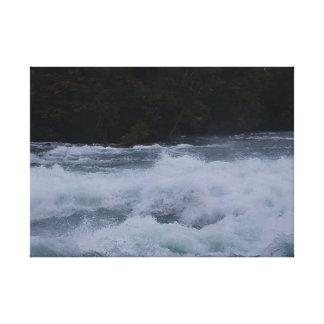 Wütendes Wasser des Niagaras! Leinwanddruck