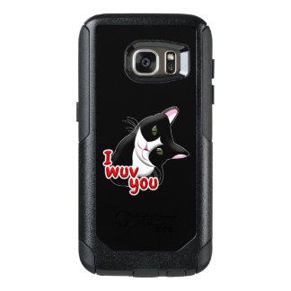 Wuv I Sie Katze OtterBox Samsung Galaxy S7 Hülle