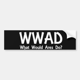 WWAD Autoaufkleber