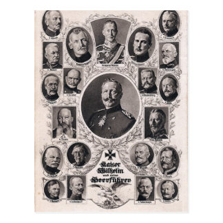 WWI Deutsch-Befehl Postkarte