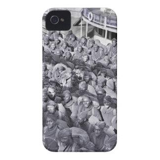 WWI schwarze Soldaten auf Transport-Schiff Case-Mate iPhone 4 Hülle