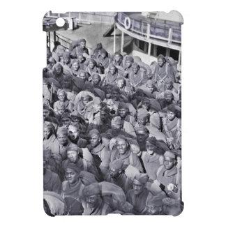 WWI schwarze Soldaten auf Transport-Schiff iPad Mini Hülle