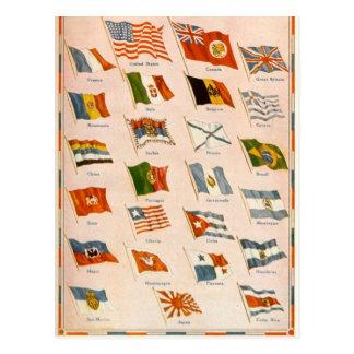 WWI Verbündete Postkarte