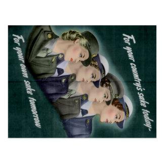WWII Einstellungs-Postkarte Postkarte