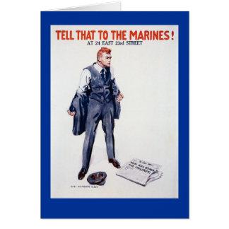 WWII einziehenplakat sagen dem… Karte