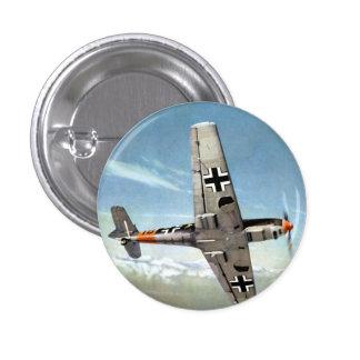 WWII ME-109 Flugzeuge im Flug Anstecknadelbutton