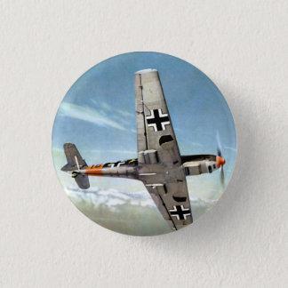 WWII ME-109 Flugzeuge im Flug Runder Button 3,2 Cm