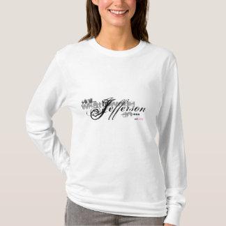 WWJD, was Jefferson wurde, tun? Hoodie-T-Stück T-Shirt