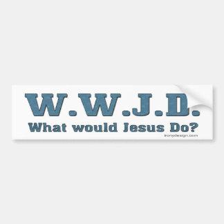 WWJD Was würde Jesus tun