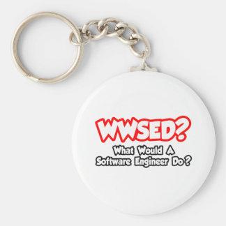 WWSED…, was eine Software Engineer tun würde? Schlüsselanhänger