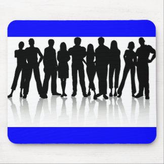 www_Garcya_us_human silhouetes Vektor Mousepad