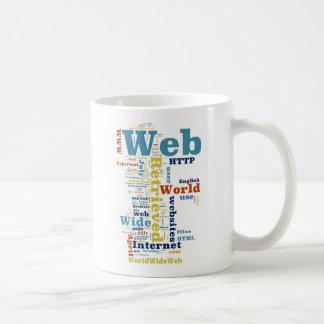 WWW und Internet Kaffeetasse