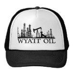 Wyatt Öl/schwarzes Logo Baseball Kappe