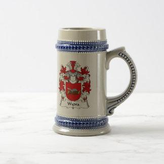 Wydra Familienwappen Tee Tasse