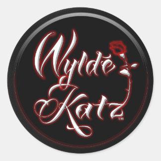 Wylde Katz Band heiße Rockin Aufkleber