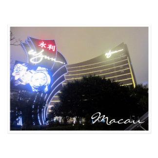 wynn Macao Postkarte